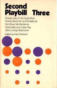 Second Playbill Three - Alan Durband