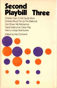 Second Playbill Three - Alan Durband
